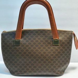 Authentic Celine Vintage Monogram Handbag